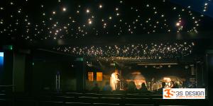 napínané stropy, hvězdné nebe