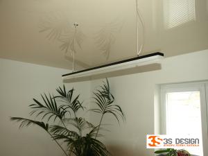 pnutý strop, LED svítidla